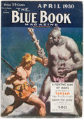 """Pulps:Hero, Blue Book """"A Fighting Man of Mars"""" Group of 5 (McCall, 1930)Condition: Average FN-...."""