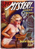 Pulps:Horror, Spicy Mystery Stories - May 1936 (Culture) Condition: VG/FN....