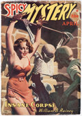 Pulps:Horror, Spicy Mystery Stories - April 1940 (Culture) Condition: GD....