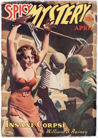 Spicy Mystery Stories - April 1940 (Culture) Condition: GD