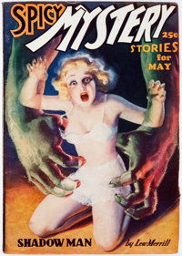 Spicy Mystery Stories - May 1937 (Culture) Condition: VG+
