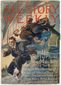 All-Story Weekly - June 17, 1916 (Munsey) Condition: FN-