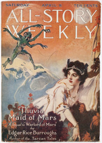 All-Story Weekly - April 8, 1916 (Munsey) Condition: VG/FN