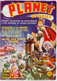 Planet Stories V1#2 Yakima Pedigree (Fiction House, 1940) Condition: VF