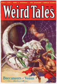 Weird Tales - February 1933 (Popular Fiction) Condition: VF-