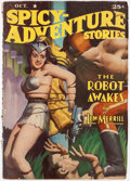Pulps:Science Fiction, Spicy Adventure Stories - October 1940 (Culture) Condition: Average VG/FN....