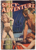 Pulps:Science Fiction, Spicy Adventure Stories - September 1941 (Culture) Condition: FN-....