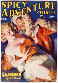 Spicy Adventure Stories - February 1937 (Culture) Condition: Average FN-