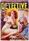 "Pulps:Detective, Spicy Detective Stories - November 1935 ""B Cover"" (Culture) Condition: FN-...."