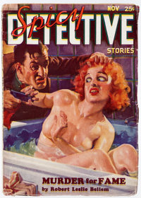 Spicy Detective Stories - November 1934 (Culture) Condition: FN-