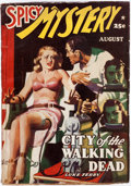 Pulps:Horror, Spicy Mystery Stories - August 1940 (Culture) Condition: V...