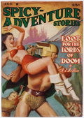 Pulps:Science Fiction, Spicy Adventure Stories - August 1940 (Culture) Condition: FN-....