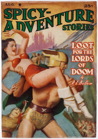 Spicy Adventure Stories - August 1940 (Culture) Condition: FN-