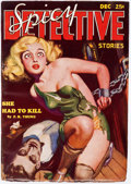 Pulps:Adventure, Spicy Detective Stories #1934-12 (Culture, 1934) Condition: FN-....