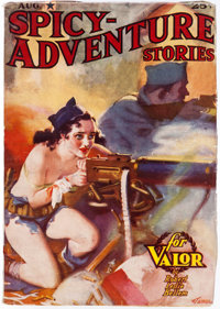 Spicy Adventure Stories - August 1937 (Culture) Condition: VF-