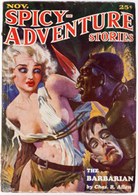 Spicy Adventure Stories - November 1934 (Culture) Condition: VG-