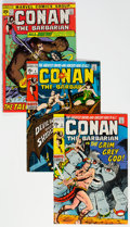 Bronze Age (1970-1979):Adventure, Conan the Barbarian Group of 13 (Marvel, 1971-73) Condition: Average VG.... (Total: 13 Comic Books)