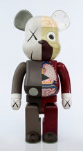 Collectible:Contemporary, KAWS X BE@RBRICK. Dissected Companion 1000%, 2008. Painted cast vinyl. 28-1/4 x 14 x 9 inches (71.8 x 35.6 x 22.9 cm). S...
