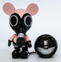 Collectible:Contemporary, Ron English X Made by Monsters X JPS Gallery. Mouse Mask Murphy Normal Clean (Silver Edition). Painted cast vinyl. 9 inc...