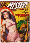 Pulps:Horror, Spicy Mystery Stories - August 1936 (Culture) Condition: VF-....