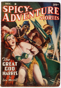 Spicy Adventure Stories - December 1940 (Culture) Condition: FN-