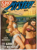 Pulps:Horror, Spicy Mystery Stories - September 1941 (Culture) Condition: FN-....