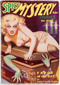 Pulps:Horror, Spicy Mystery Stories #1935-06 (Culture, 1935) Condition: FN-....
