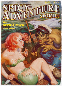 Spicy Adventure Stories - January 1935 (Culture) Condition: VF-