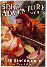 Spicy Adventure Stories - February 1938 (Culture) Condition: FN-