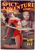 Pulps:Adventure, Spicy Adventure Stories - May 1938 (Culture) Condition: FN-....