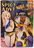 Pulps:Adventure, Spicy Adventure Stories - July 1935 (Culture) Condition: VF-....