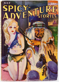 Spicy Adventure Stories - July 1935 (Culture) Condition: VF-