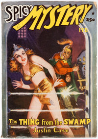 Spicy Mystery Stories - February 1942 (Culture) Condition: FN-