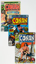 Bronze Age (1970-1979):Adventure, Conan the Barbarian Group of 65 (Marvel, 1973-83) Condition: Average NM.... (Total: 65 Comic Books)
