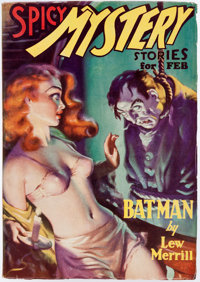 Spicy Mystery Stories - February 1936 (Culture) Condition: VF-