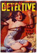 Pulps:Detective, Spicy Detective Stories - January 1936 (Culture) Condition: VF-....