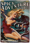 Pulps:Adventure, Spicy Adventure Stories - August 1936 (Culture) Condition:FN/VF....
