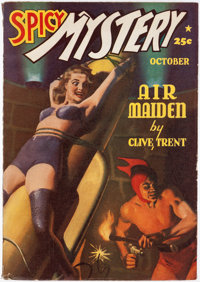 Spicy Mystery Stories - October 1940 (Culture) Condition: FN-