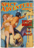 Pulps:Science Fiction, Spicy Adventure Stories - February 1941 (Culture) Condition:FN-....