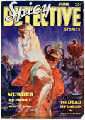 Pulps:Detective, Spicy Detective Stories - June 1934 (Culture) Condition: FN/VF....