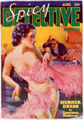 Pulps:Detective, Spicy Detective Stories - August 1935 (Culture) Condition: FN/VF....