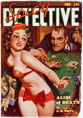 Pulps:Detective, Spicy Detective Stories - February 1935 (Culture) Condition:FN-....