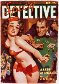 Spicy Detective Stories - February 1935 (Culture) Condition: FN-