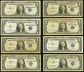 Obsoletes By State:Michigan, Sault De St. Marys, MI Obsolete and Later $1 Silver Certificates.. ... (Total: 13 notes)