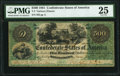 Confederate Notes:1861 Issues, T2 $500 1861 PF-1 Cr. 2 PMG Very Fine 25.. ...