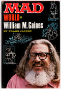 Books:First Editions, The Mad World of William M. Gaines by Frank Jacobs File Copy (Lyle Stuart, 1972)....