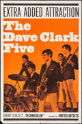 "Movie Posters:Rock and Roll, The Dave Clark Five (United Artists, 1965). Folded, Fine/Very Fine. One Sheet (27"" X 41""). Rock and Roll.. ..."