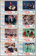 "Movie Posters:Rock and Roll, Disk-O-Tek Holiday (Allied Artists, 1964). Very Fine. Lobby CardSet of 8 (11"" X 14""). Rock and Roll.. ... (Total: 8 Items)"