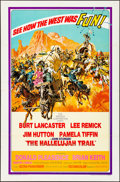 Movie Posters:Western, The Hallelujah Trail (United Artists, 1965). Folded, Fine/...