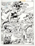 Original Comic Art:Panel Pages, Ross Andru and Dick Giordano Superman vs. The Amazing Spider-Man Story Page 71 Original Art (DC/Marvel, 1976)....